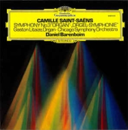 交響曲第3番「オルガン付き」 リテーズ、ダニエル・バレンボイム&シカゴ交響楽団 (180グラム重量盤レコード)