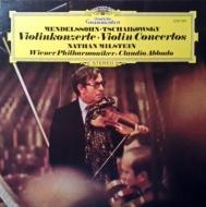 ヴァイオリン協奏曲(チャイコフスキー)、ヴァイオリン協奏曲(メンデルスゾーン)ミルシテイン、アバド&ウィーン・フィルハーモニー (180グラム重量盤レコード)