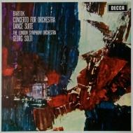 管弦楽のための協奏曲、舞踏組曲 ショルティ&ロンドン交響楽団 (180グラム重量盤レコード)