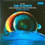 組曲『惑星』 ズービン・メータ&ロサンジェルス・フィルハーモニー管弦楽団 (180グラム重量盤レコード)