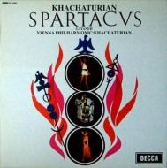 スパルタカス、ガイーヌ:アラム・ハチャトゥリアン指揮&ウィーン・フィルハーモニー管弦楽団 (180グラム重量盤レコード)