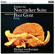 組曲「くるみ割り人形」、ぐりーく「ペール・ギュント」 カラヤン&ベルリン・フィルハーモニー管弦楽団 (180グラム重量盤レコード)