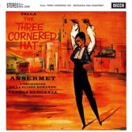 「三角帽子」:テレサ・ベルガンサ(メゾ・ソプラノ)、エルネスト・アンセルメ指揮&スイス・ロマンド管弦楽団 (180グラム重量盤レコード)