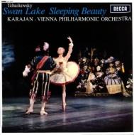 「白鳥の湖」「眠りの森の美女」 カラヤン&ウィーン・フィルハーモニー管弦楽団 (180グラム重量盤レコード)