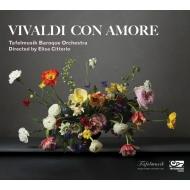 Vivaldi Con Amore-concertos: Citterio(Vn)/ Tafelmusik Baroque O