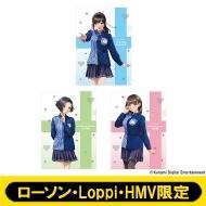 A4クリアファイル3枚セット ラブプラス 【ローソン・Loppi・HMV限定】
