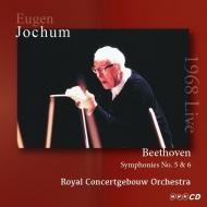 交響曲第5番『運命』、第6番『田園』、『エグモント』序曲 オイゲン・ヨッフム&コンセルトヘボウ管弦楽団(1968年東京ステレオ・ライヴ)(2CD)