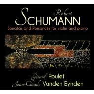 ヴァイオリン・ソナタ第1番、第2番、3つのロマンス ジェラール・プーレ、ジャン=クロード・ファンデン・エイデン