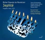 音楽悲劇『ジェフテ』 ジュルジ・ヴァシェジ&オルフェオ管弦楽団、パーセル合唱団、シャンタル・サントン・ジェフリー、他(2CD)