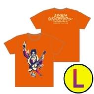 イラストTシャツ(オレンジ)Lサイズ