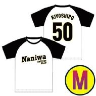 阪神タイガース風ベースボールTシャツ Mサイズ