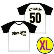 阪神タイガース風ベースボールTシャツ XLサイズ