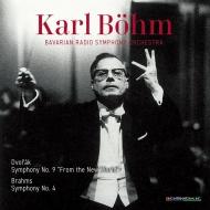 Dvorak Symphony No.9 (1958)Brahms Symphony No.4 (1965): Karl Bohm / Bavarian Radio Symphony Orchestra (2CD)