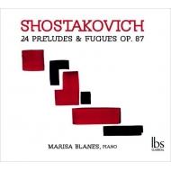 24の前奏曲とフーガ マリサ・ブラネス(3CD)