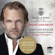 Keyboard Concerto, 1, 2, : Knauer(P)Norrington / Zurich Co +c.p.e.& J.c.bach (+catalogue)