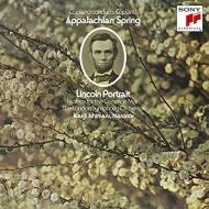 アパラチアの春、リンカーンの肖像(朗読:石丸幹二)、エル・サロン・メヒコ、他 アーロン・コープランド&ロンドン交響楽団、ニュー・フィルハーモニア管弦楽団