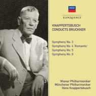 交響曲第3番、第4番、第5番、第8番 ハンス・クナッパーツブッシュ&ウィーン・フィル、ミュンヘン・フィル(4CD)
