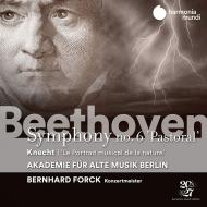 ベートーヴェン:交響曲第6番『田園』、クネヒト:自然の音楽的描写あるいは大交響曲 ベルリン古楽アカデミー、ベルンハルト・フォルク(コンサートマスター)