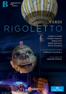 『リゴレット』全曲 シュテルツル演出、マッツォーラ&ウィーン交響楽団、ストヤノフ、S.コステロ、他(2019 ステレオ)(日本語字幕付)