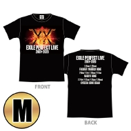 EXILE PERFECT LIVE ツアーTシャツ(BLACK/M)