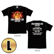 EXILE PERFECT LIVE ツアーTシャツ(BLACK/L)