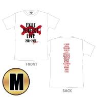 EXILE PERFECT LIVE ロゴTシャツ(WHITE/M)