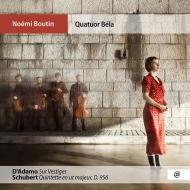 シューベルト:弦楽五重奏曲、ダダモ:『Sur Vestiges』 ノエミ・ブタン、ベラ四重奏団