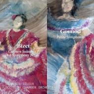 ビゼー:『カルメン』組曲、交響曲、グノー:小交響曲 フランソワ・ルルー&スコットランド室内管弦楽団