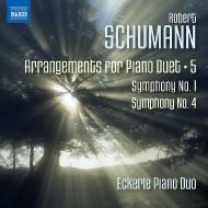 ピアノ・デュオのための編曲集 第5集〜交響曲第1番『春』、第4番 エッカレ・ピアノ・デュオ