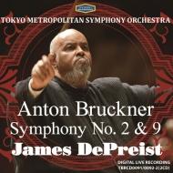 交響曲第9番、第2番 ジェイムズ・デプリースト&東京都交響楽団(2CD)