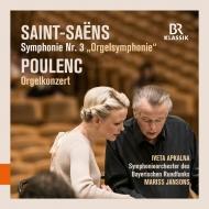 Saint-Saens Symphony No.3, Poulenc Organ Concerto : Mariss Jansons / Bavarian Radio Symphony Orchestra, Iveta Apkalna(Organ)