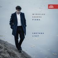 リスト:ピアノ作品集、スメタナ:ピアノ作品集 ミロスラフ・セケラ