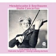 ベートーヴェン:ヴァイオリン協奏曲(G.L.ヨッフム指揮)、メンデルスゾーン(サージェント指揮) ジョコンダ・デ・ヴィート(平林直哉復刻)