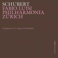 交響曲第9番『グレート』 ファビオ・ルイージ&フィルハーモニア・チューリッヒ(日本語解説付)