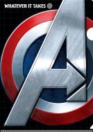 クリアファイル&ステッカーセット(キャプテン・アメリカ) / アベンジャーズ4 エンドゲーム