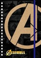 ゴムバンド付きリングノートD / アベンジャーズ4 エンドゲーム