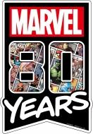 ダイカットマウスパッド / MARVEL 80YEARS