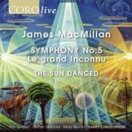 交響曲第5番『ル・グランタンコニュ』、ザ・サン・ダンスト ハリー・クリストファーズ&ザ・シックスティーン、ブリテン・シンフォニア