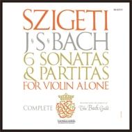 無伴奏ヴァイオリンのためのソナタとパルティータ全曲 シゲティ (3枚組アナログレコード)