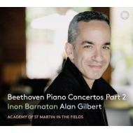 ピアノ協奏曲第5番『皇帝』、第2番、ヴァイオリン協奏曲(ピアノ版)、合唱幻想曲 イノン・バルナタン、アラン・ギルバート&アカデミー室内管(2CD)(日本語解説付)
