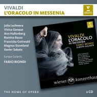 歌劇『メッセニアの神託』全曲 ファビオ・ビオンディ&エウローパ・ガランテ、ユリア・レジーネヴァ、 ヴィヴィカ・ジュノー、他(2012 ステレオ)(2CD)