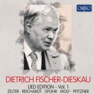 ディートリヒ・フィッシャー=ディースカウ/歌曲録音集 第1集〜ツェルター、ライヒャルト、シュポア、ヴォルフ、プフィッツナー(5CD)