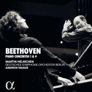 ピアノ協奏曲第4番、第1番 マルティン・ヘルムヒェン、アンドルー・マンゼ&ベルリン・ドイツ交響楽団