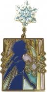 ステンドグラス風ピンバッジ(エルサ)/ アナと雪の女王2