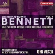 アニヴァーサリーズ、ピアノ協奏曲、トルバドゥールの音楽、他 ジョン・ウィルソン&BBCスコティッシュ交響楽団、マイケル・マクヘイル