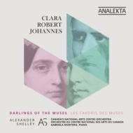 Schumann Symphony No.1, Brahms Symphony No.1, C.Schumann Piano Concerto : Alexander Shelley / Canada's National Arts Centre Orchestra, Montero(P)(2CD)