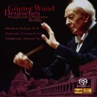 Schubert Symphony No.9, Tchaikovsky Symphony No.5, Stravinsky L'oiseau de feu Suite : Gunter Wand / Berlin Deutsches Symphony Orchestra (2SACD)(Hybrid)