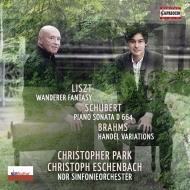(Liszt)wanderer-fantasie: Christopher Park(P)Eschenbach / Ndr So +piano Sonata, 13, Brahms: Handel Variations