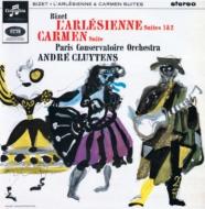 『アルルの女』第1組曲、第2組曲、『カルメン』組曲第1番 アンドレ・クリュイタンス、パリ音楽院管弦楽団 (アナログレコード)