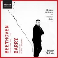 ベートーヴェン:交響曲第3番『英雄』、第2番、第1番、バリー:『ベートーヴェン』、他 トマス・アデス&ブリテン・シンフォニア、マーク・ストーン、他(2CD)